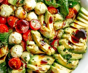 salad, food, and vegetarian image