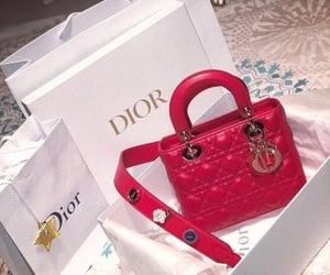 dior, bag, and handbag image