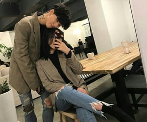 couple, ulzzang, and cute image