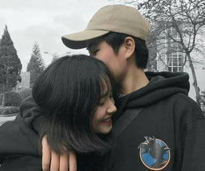 couple, cute couple, and ulzzang image