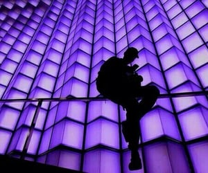 purple, aesthetic, and boy image
