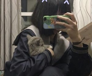 avatar, cat, and catgirl image