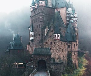 castle, travel, and nature image