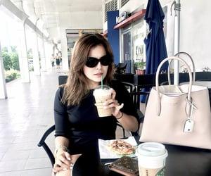 cafe, Louis Vuitton, and parisian image