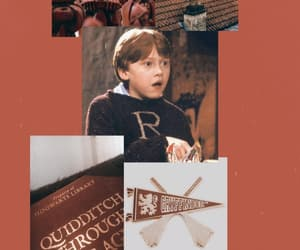 harrypotter, wallpaper, and weasley image