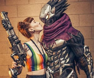 cosplay, video game, and cosplayer image