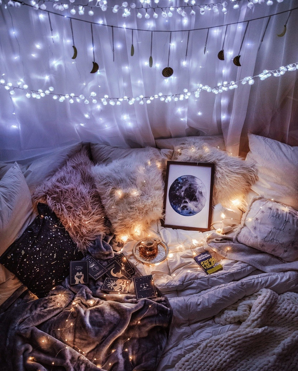 82 Images About Cozy Bed Aesthetic On We Heart It See More About Home Bed And Bedroom