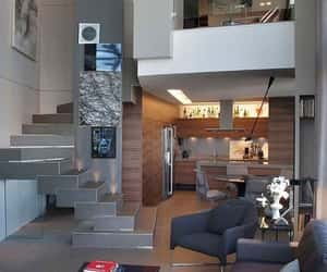Blanc, home, and living room image