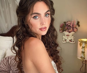 bedroom, curls, and fairytale image