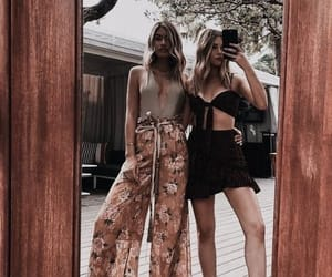 fashion, mirror, and friends image
