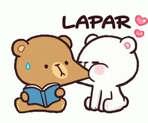 bear, cute, and couple image