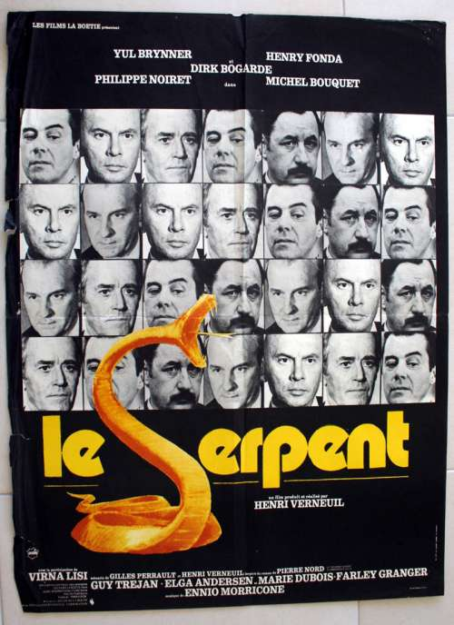 article, movie, and le serpent image