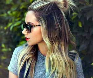hair, ashley tisdale, and blonde image