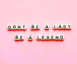 quotes, legend, and pink image