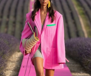 fashion, outfit, and runway image