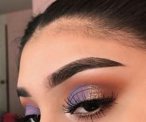 makeup, eyes, and make image
