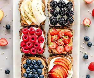 apples, banana, and blueberries image