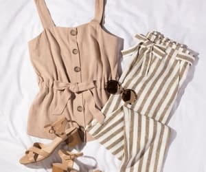 striped pants style image