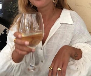 wine, drink, and style image