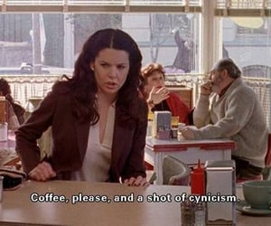 gilmore girls, coffee, and quotes image