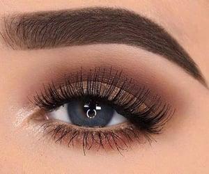 eyes, eyeshadow, and eye image