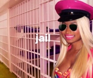 jail, response, and nicki minaj image