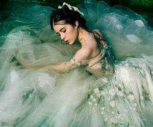 beauty, green, and ballerina image