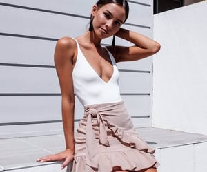 beauty, woman, and clothes image