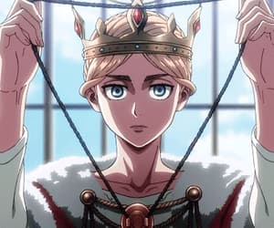 anime, attack on titan, and historia reiss image