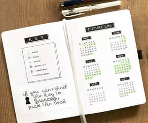 bujo, bullet journal, and future log image