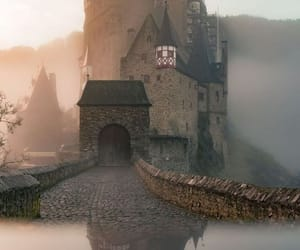 castle, architecture, and fantasy image