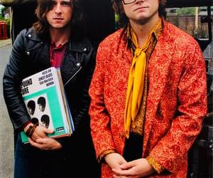 elton john, Jamie Bell, and rocketman image