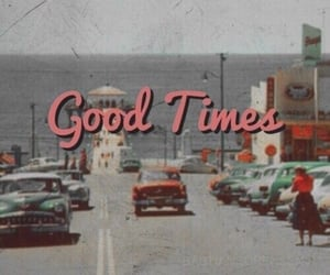 vintage, good times, and retro image