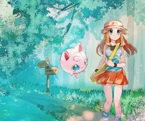 blue, trainer, and pokemon adventures image