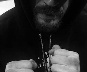 beard, ring, and fist image