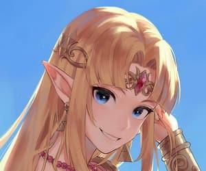 zelda, nintendo, and anime image