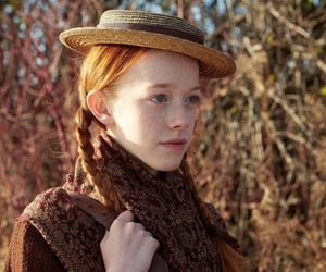 anne with an e, anne shirley, and ginger image