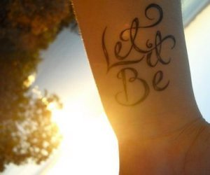 tattoo and let it be image