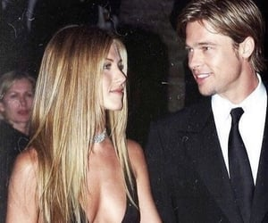 90s, brad pitt, and Jennifer Aniston image