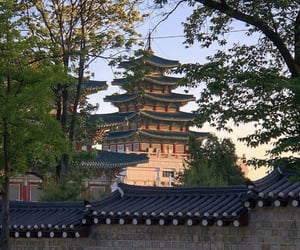 aesthetic, architecture, and asian image