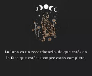 luna, frases, and textos image