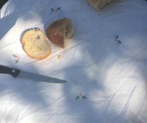 beach, bread, and dreamy image