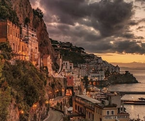 italy, city, and Amalfi image