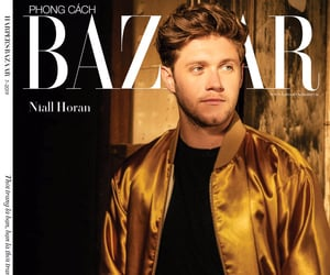 Niall Horan on the cover of  Harper's Bazaar Vietnam 8th Anniversary Special Edition magazine