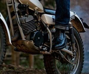 aesthetic, bike, and OC image