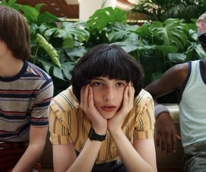 stranger things, mike, and finn wolfhard image