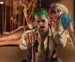 harley quinn, suicide squad, and batman image