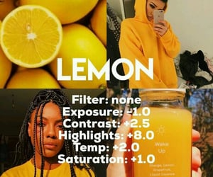 filters, photography, and yellow image