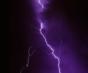 black and white, dark, and lightning image