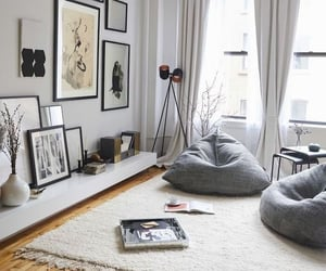 home, interior, and grey image